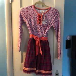 NWT Matilda Jane Girls dress size 12